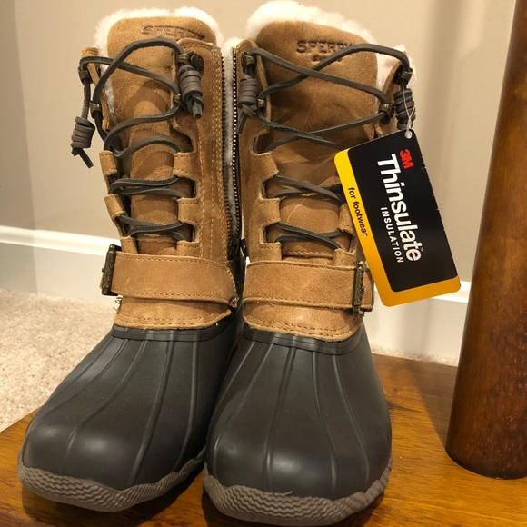 Nwt Sperry Rainsnow Thinsulate Boots